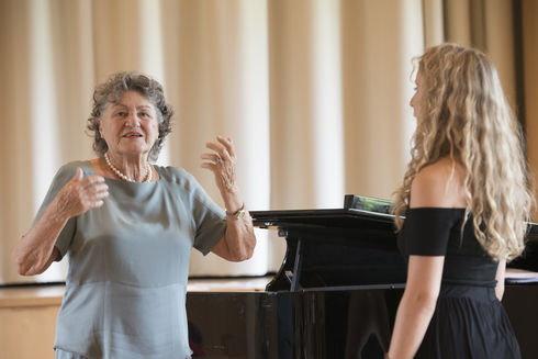 Silvana Bazzoni Bartoli Lorenzo Coladonato Gstaad Vocal Academy
